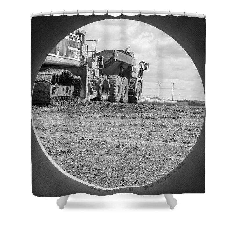 Photography Shower Curtain featuring the photograph Hindsight Is 20/20 by Stephanie Berry