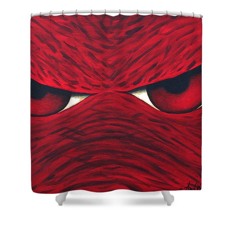Razorback Hog Shower Curtains