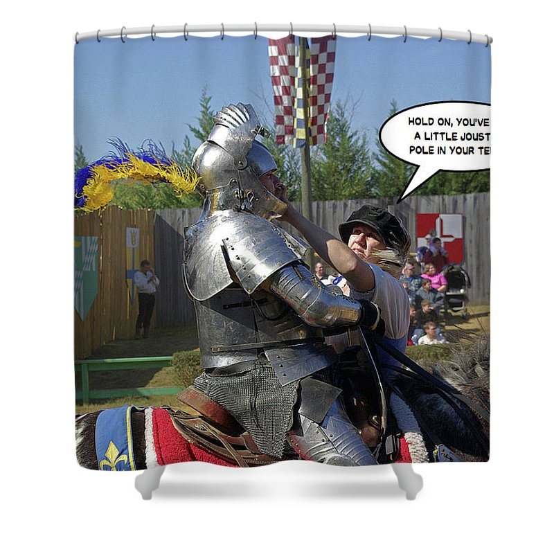 2d Shower Curtain featuring the photograph Hold On by Brian Wallace