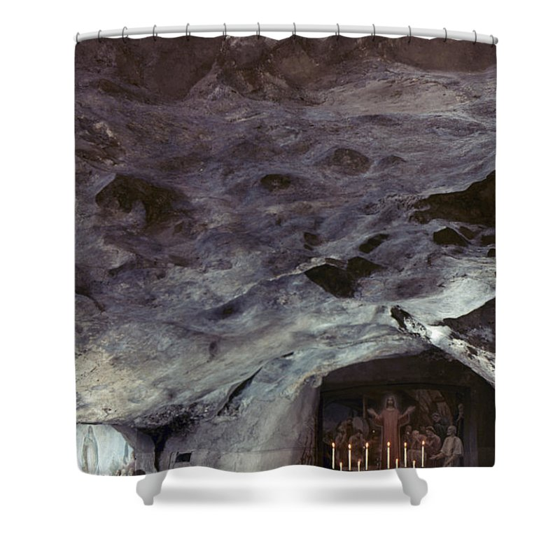 Agony In The Garden Shower Curtain featuring the photograph Holy Land: Gethsemane by Granger