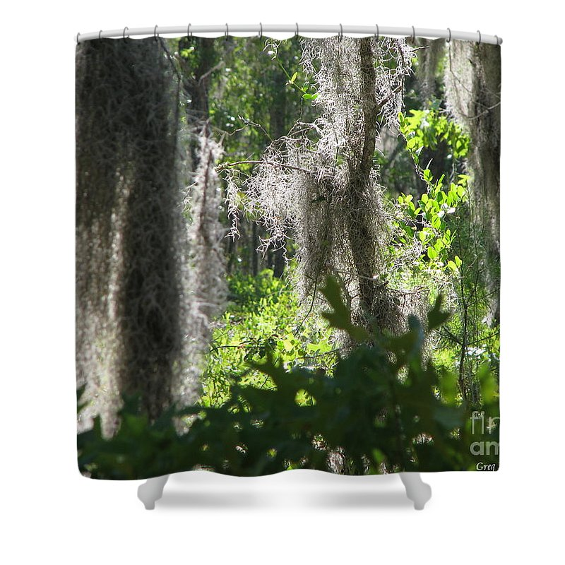 Florida Shower Curtain featuring the photograph Home by Greg Patzer