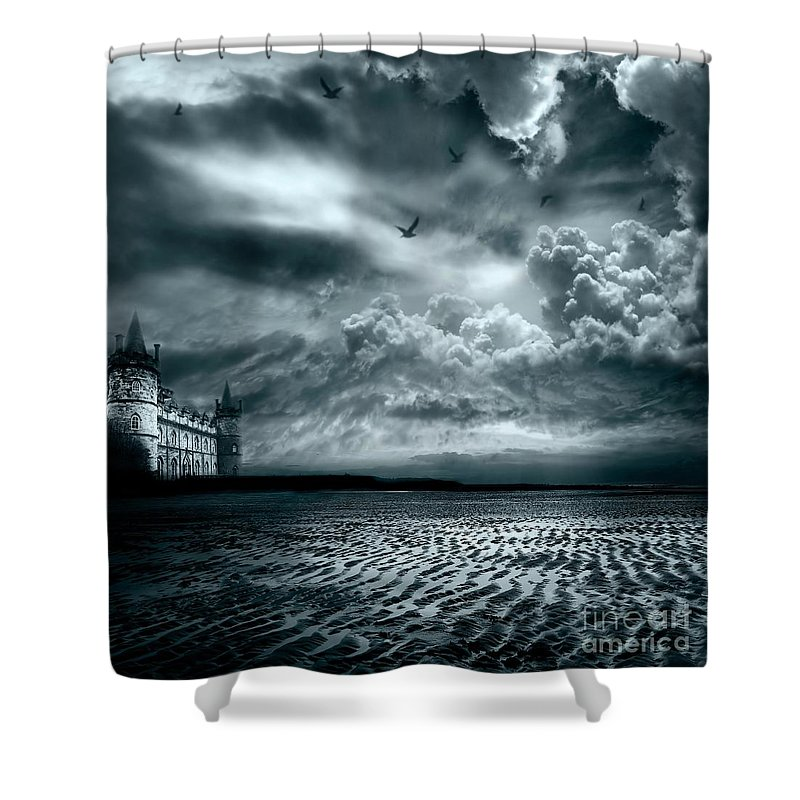 Beach Shower Curtain featuring the photograph Home by Jacky Gerritsen
