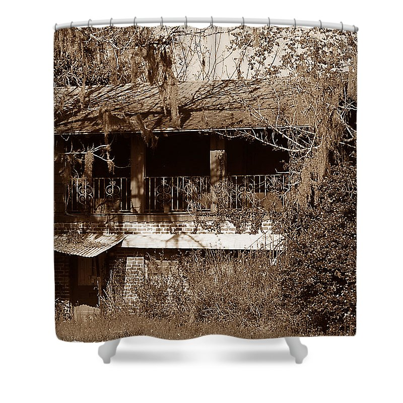 House Shower Curtain featuring the photograph Home Sweet Home by Bob Johnson