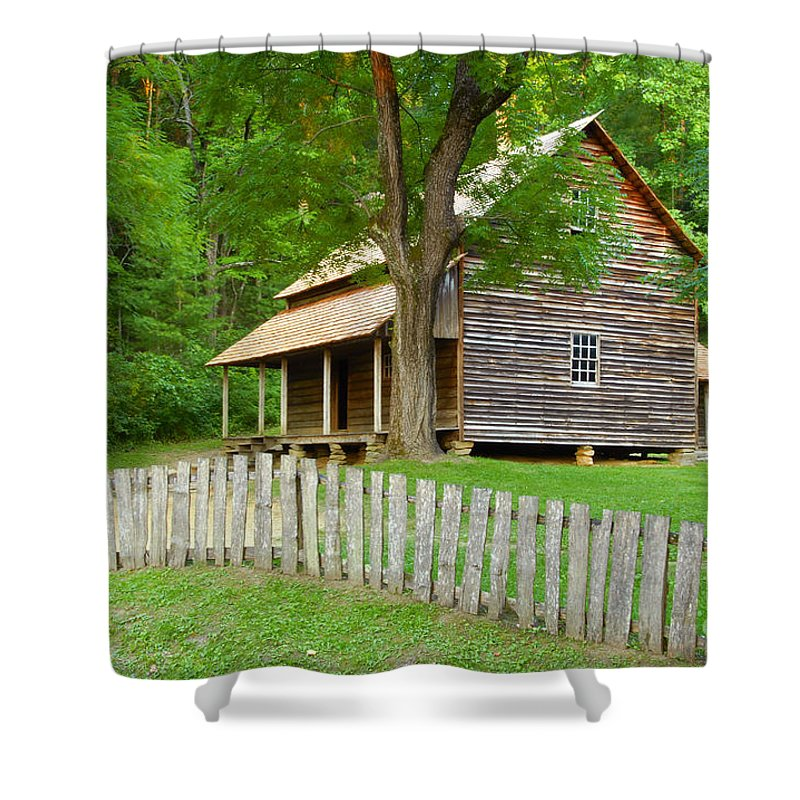 Home Shower Curtain featuring the photograph Homestead by David Lee Thompson