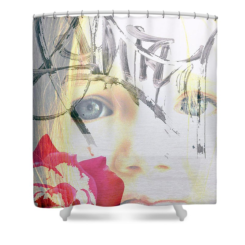 Modern Shower Curtain featuring the photograph Hope For The Future by Amanda Barcon