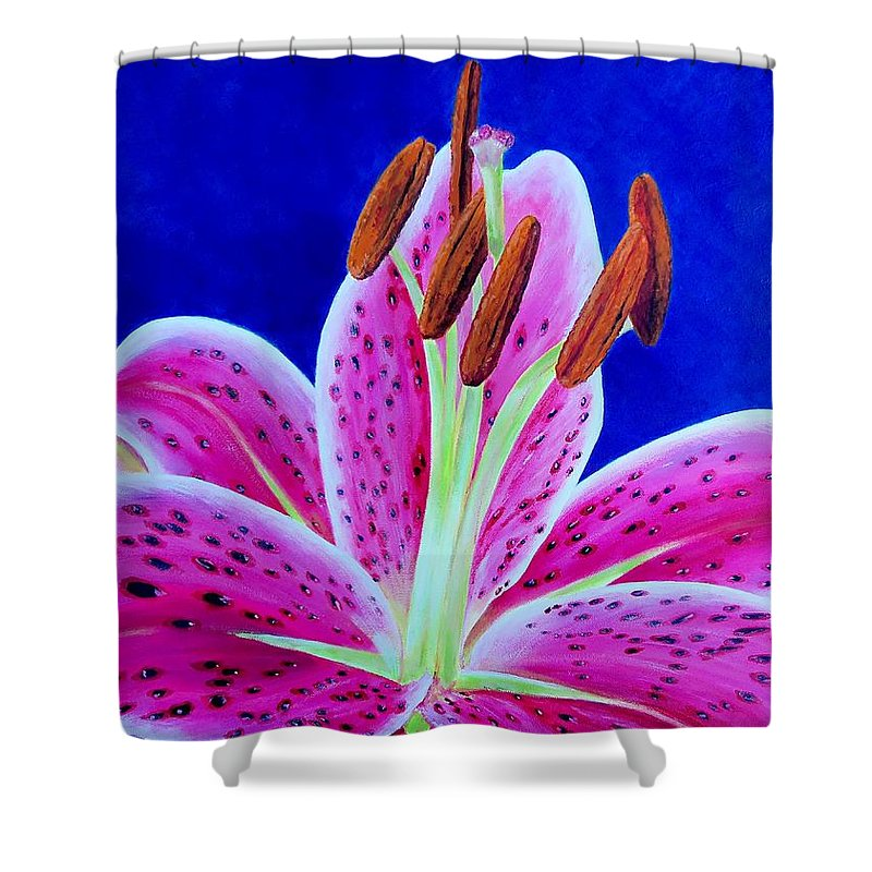 Sue Delain Shower Curtain featuring the painting Hope by Susan DeLain