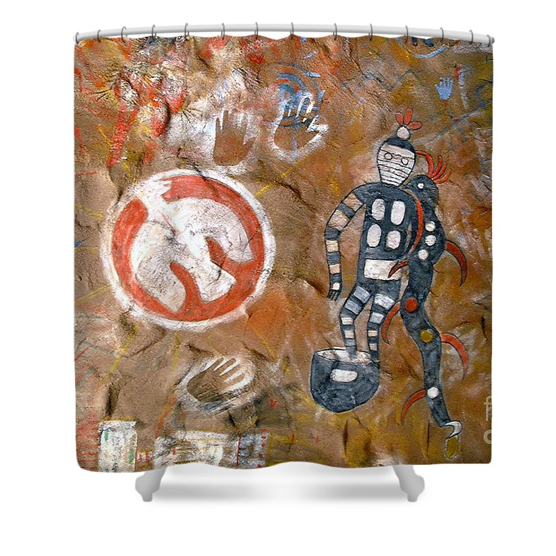 Hopi Indians Shower Curtain featuring the photograph Hopi Dreams by David Lee Thompson