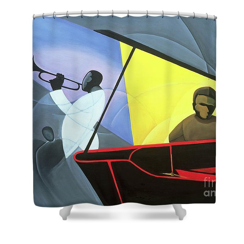 Trumpet Shower Curtains