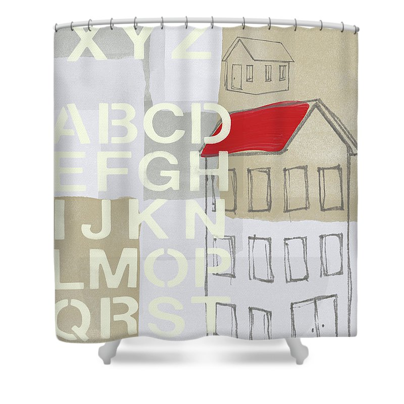 Industrial Design Shower Curtains | Fine Art America