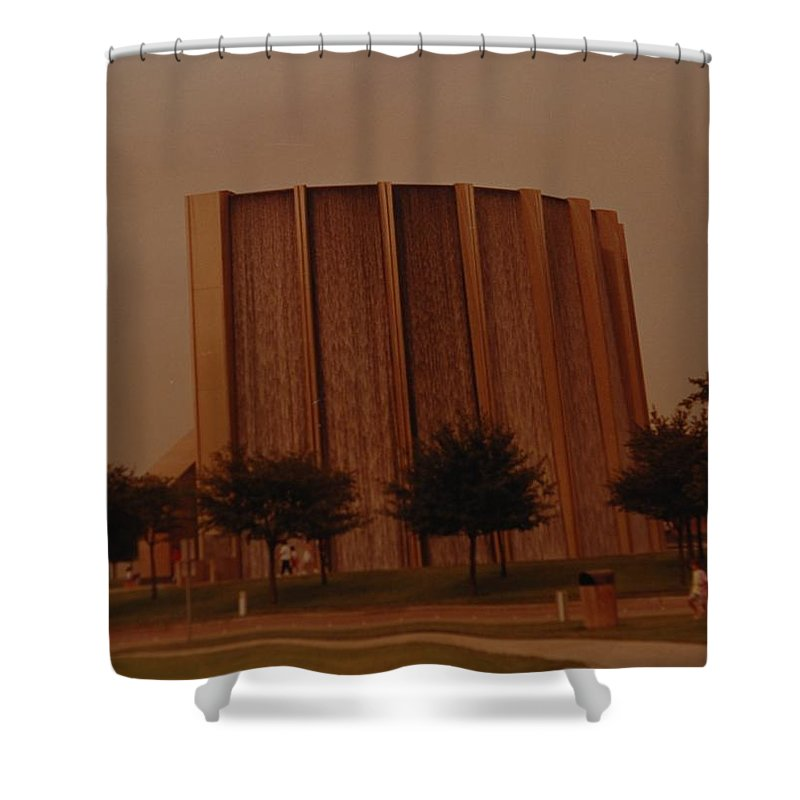 Water Shower Curtain featuring the photograph Houston Waterfall by Rob Hans