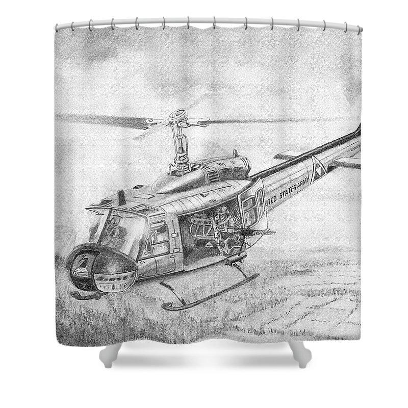 Huey In Vietnam Shower Curtain For Sale By Douglas Castleman