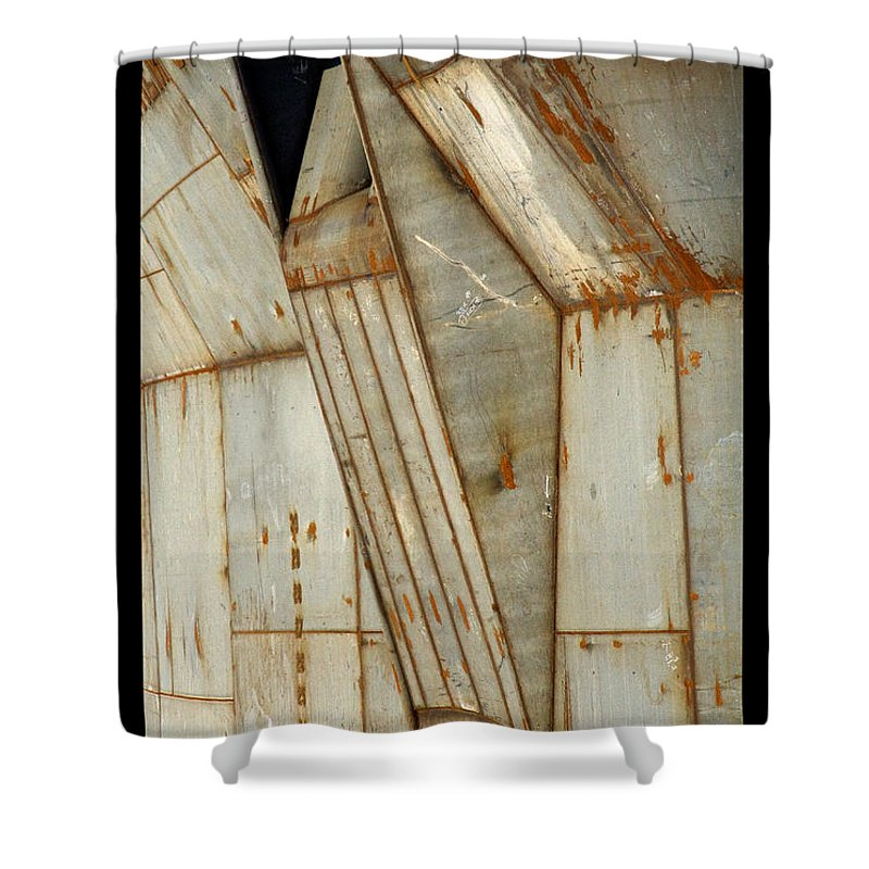 Hull Shower Curtain featuring the photograph Hull Detail by Tim Nyberg