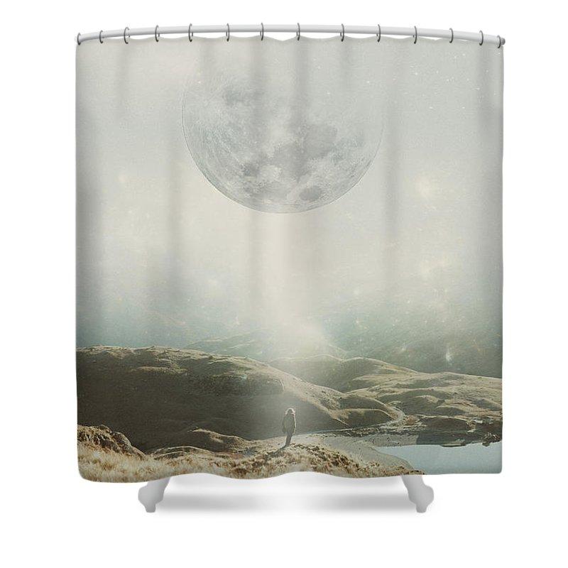 I Surrender Shower Curtains