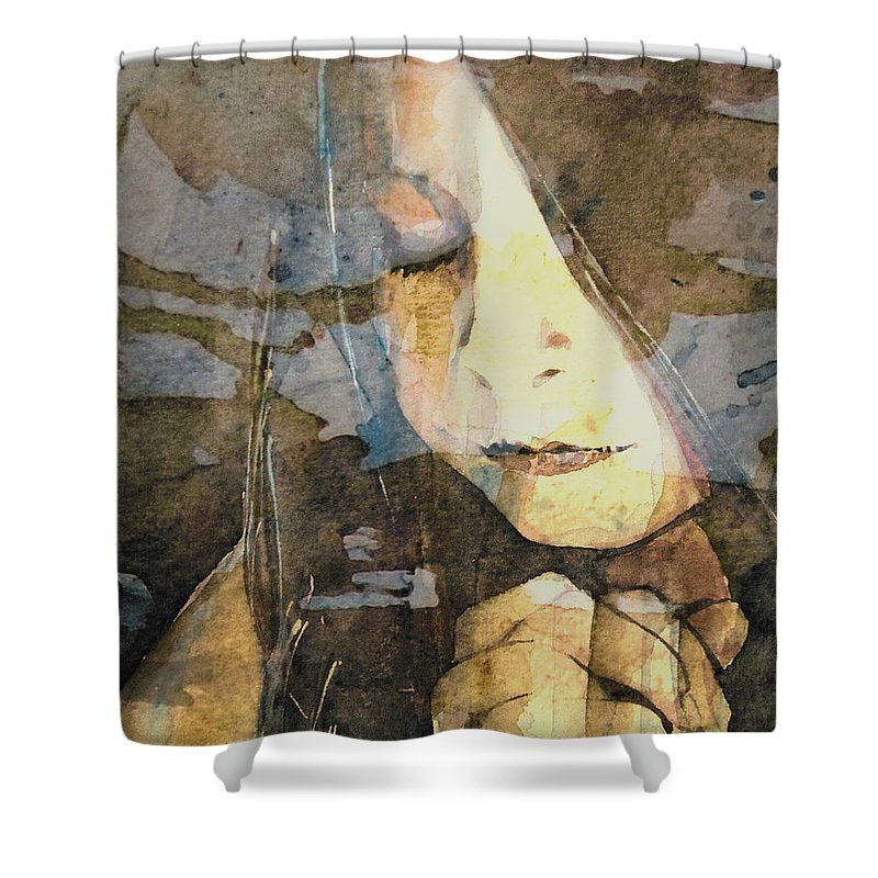 Prayer Shower Curtain featuring the painting I Say A Little Prayer by Paul Lovering