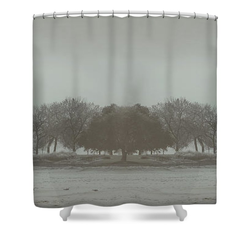 Landscape Shower Curtain featuring the photograph I Will Walk You Home by Dana DiPasquale