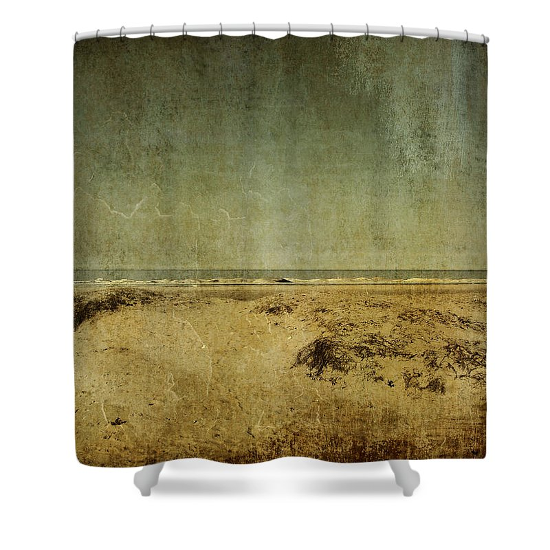 Beach Shower Curtain featuring the photograph I Wore Your Shirt by Dana DiPasquale