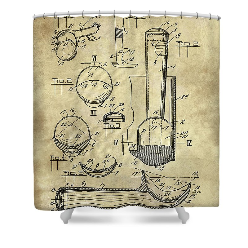 Ice Cream Scoop Antique Blueprint Patent Drawing 1939 Kitchen Art
