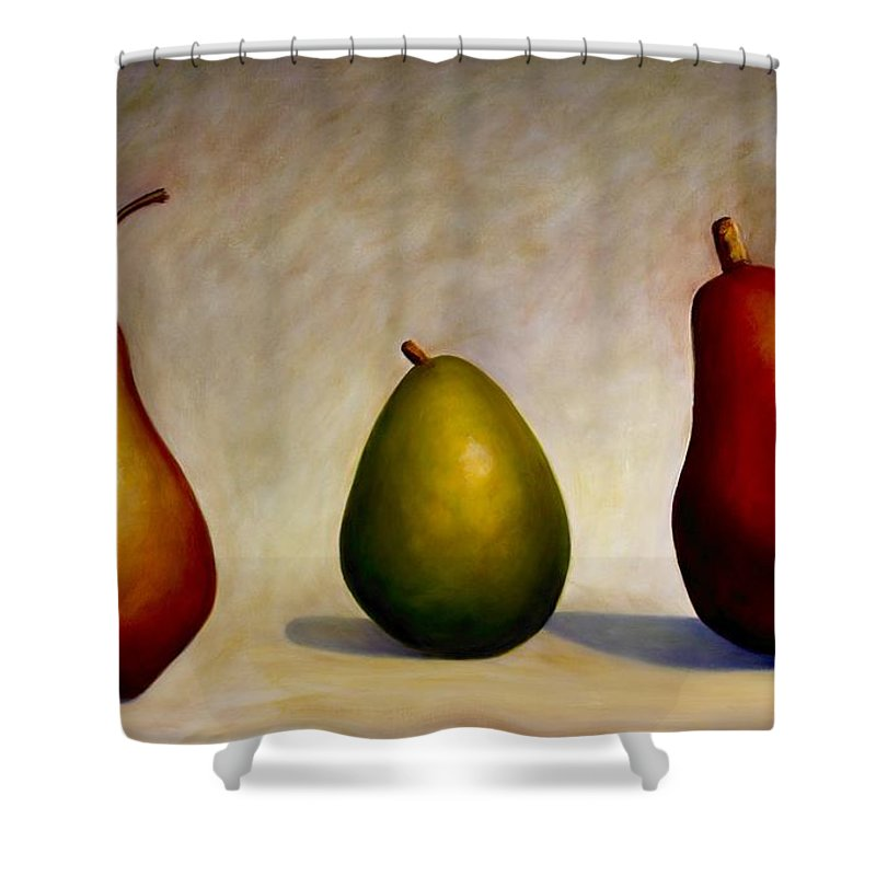 Still Life Shower Curtain featuring the painting In Repair by Shannon Grissom