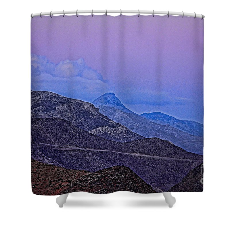 Crete Shower Curtain featuring the photograph In Search Of Atlantis-2 by Casper Cammeraat