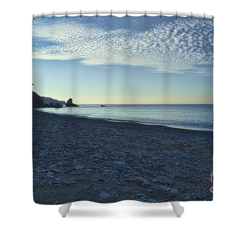 Crete Shower Curtain featuring the photograph In Search Of Atlantis-5 by Casper Cammeraat