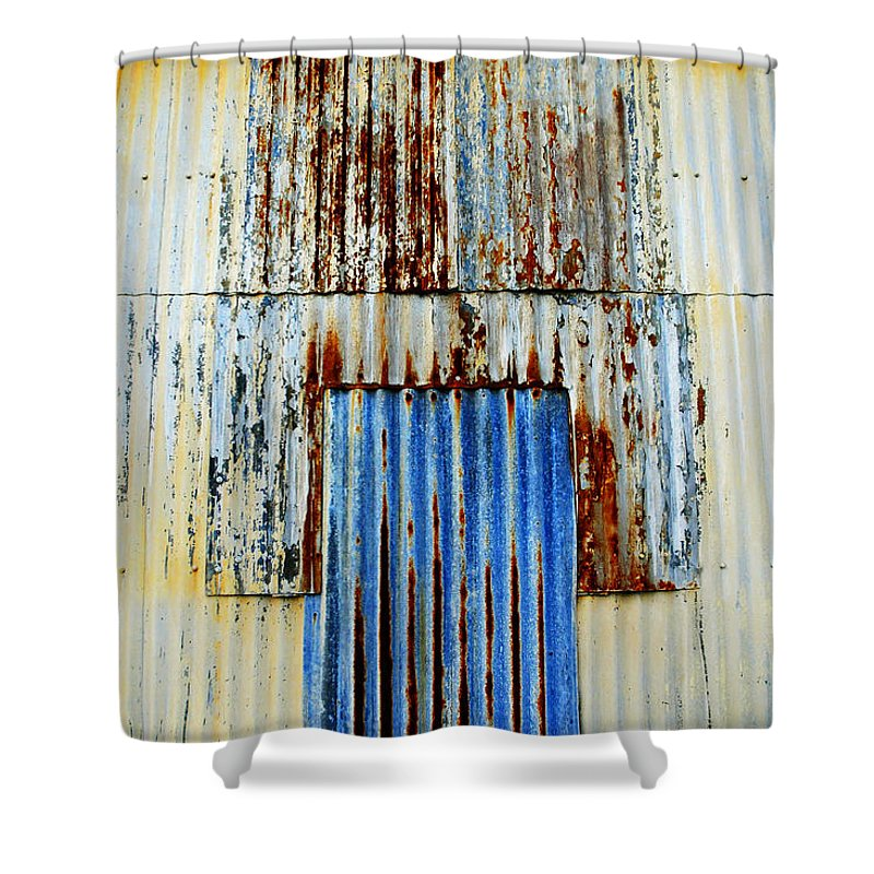 Skip Hunt Shower Curtain featuring the photograph In Through The Out Door by Skip Hunt