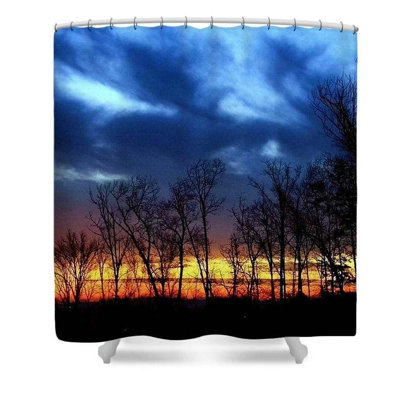 Sunrise Shower Curtain featuring the photograph Infinite Expectation by Mitch Cat