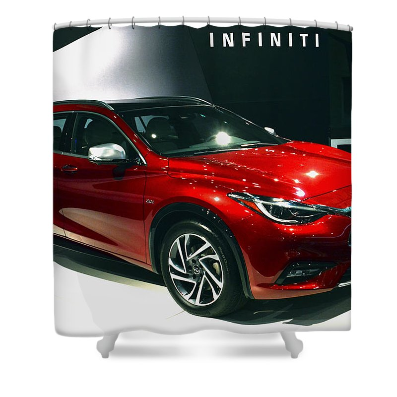 Infiniti Shower Curtain featuring the photograph Infiniti by Mike Martin