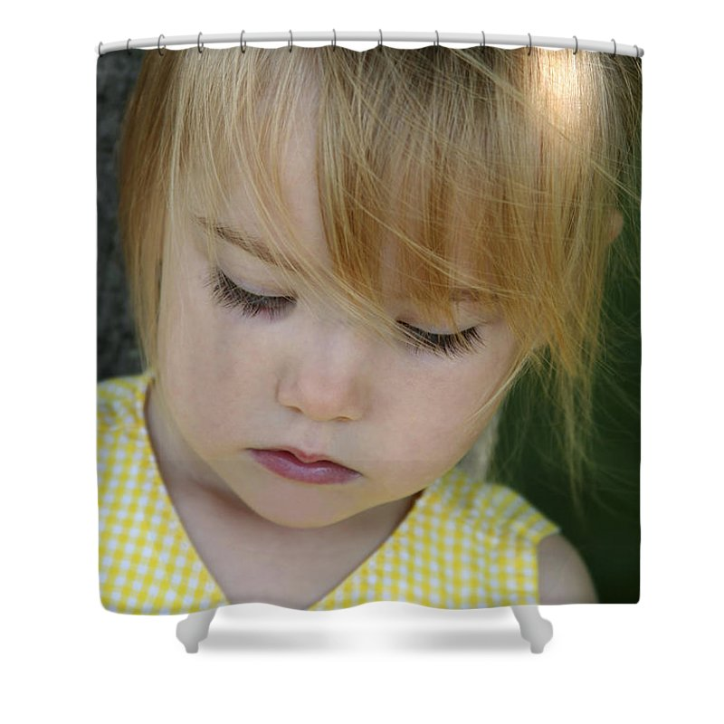 Angelic Shower Curtain featuring the photograph Innocence II by Margie Wildblood