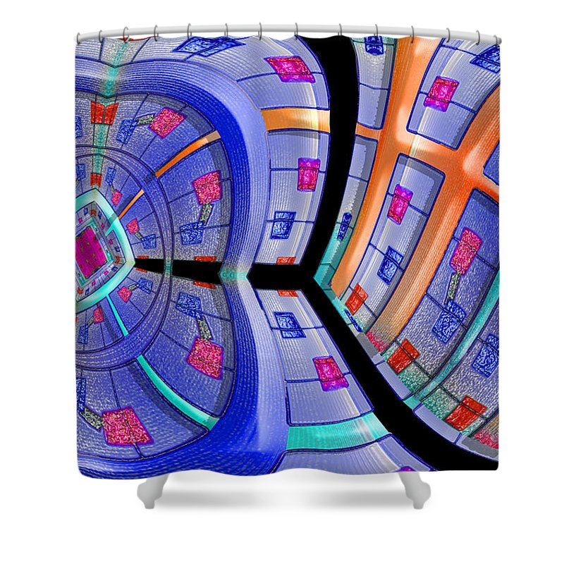 Photography Shower Curtain featuring the photograph Inroads by Paul Wear