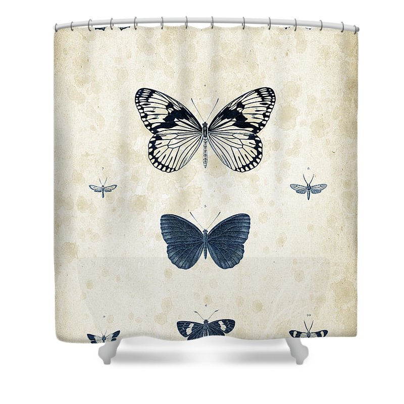 Coleoptera Shower Curtains