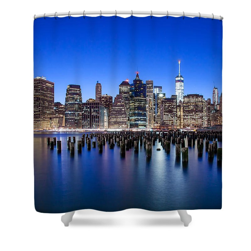 New York City Shower Curtain featuring the photograph Inspiring Stories by Az Jackson