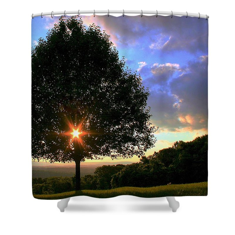Landcape Shower Curtain featuring the photograph Integrity by Mitch Cat