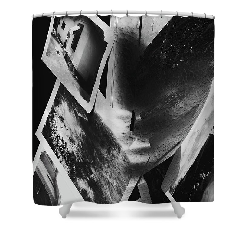 Left Brain Shower Curtain featuring the photograph Intellect Disconnect by Jorgo Photography - Wall Art Gallery