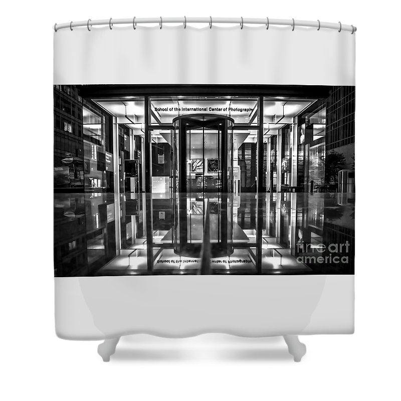 Archicture Shower Curtain featuring the photograph International Center Of Photography, Nyc by James Aiken