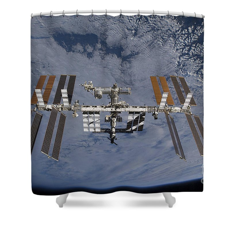 International Space Station Shower Curtains