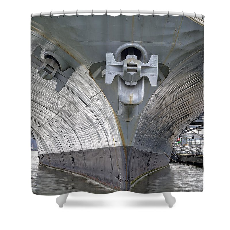 Tourist Shower Curtain featuring the photograph Intrepid Am by Michael Tischler