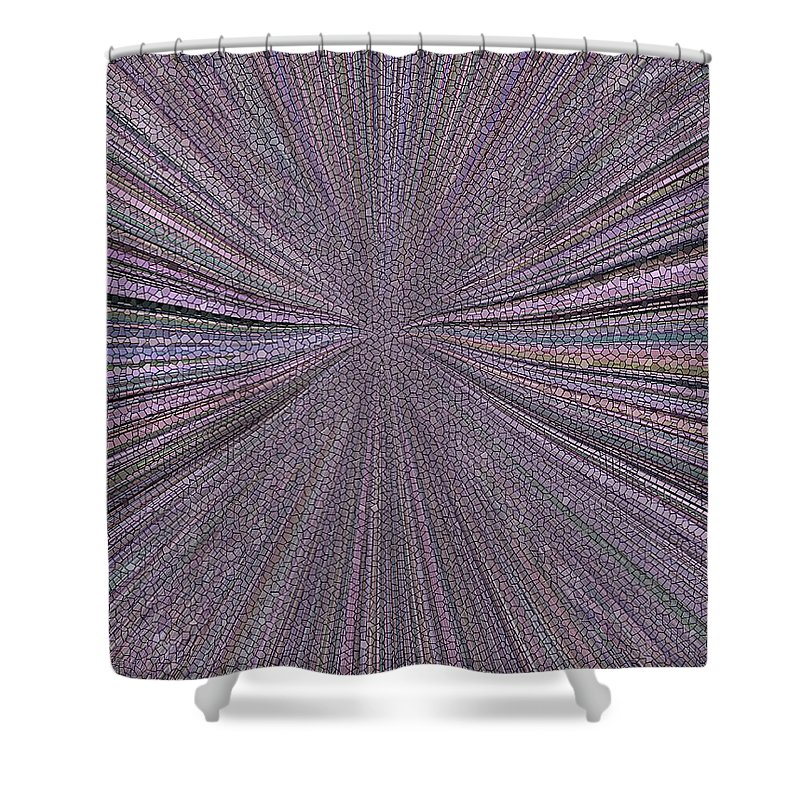 Inward Shower Curtain featuring the photograph Inward by Tim Allen