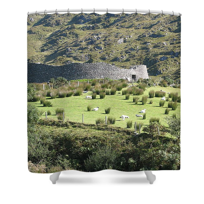 Ireland Shower Curtain featuring the photograph Ireland by Kelly Mezzapelle