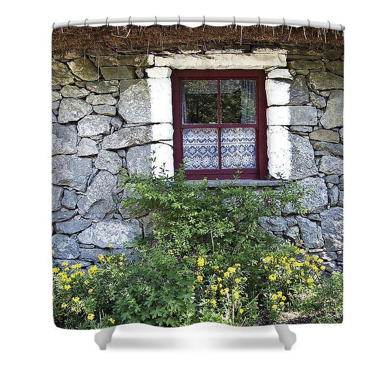 Irish Cottage Window County Clare Ireland Shower Curtain For Sale By Teresa Mucha