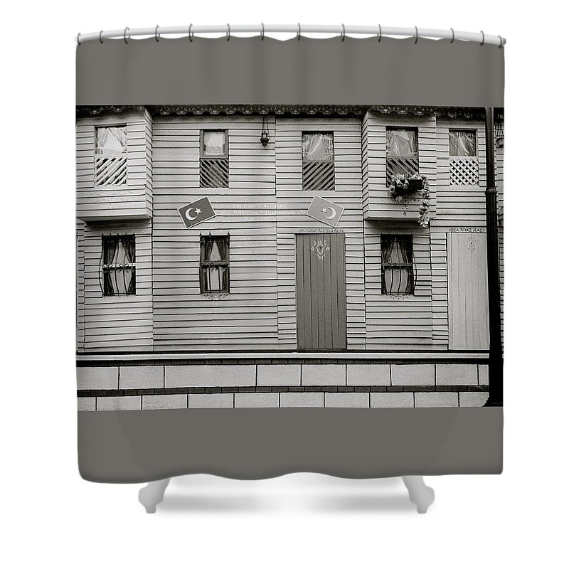 House Shower Curtain featuring the photograph Istanbul House by Shaun Higson