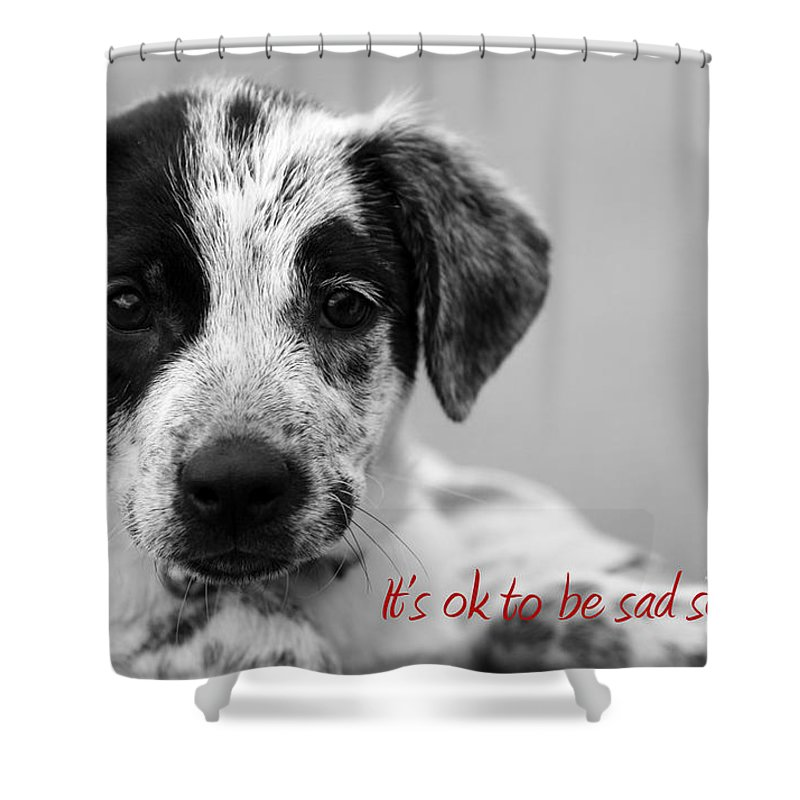 posters For Kids Shower Curtain featuring the photograph It by Amanda Barcon