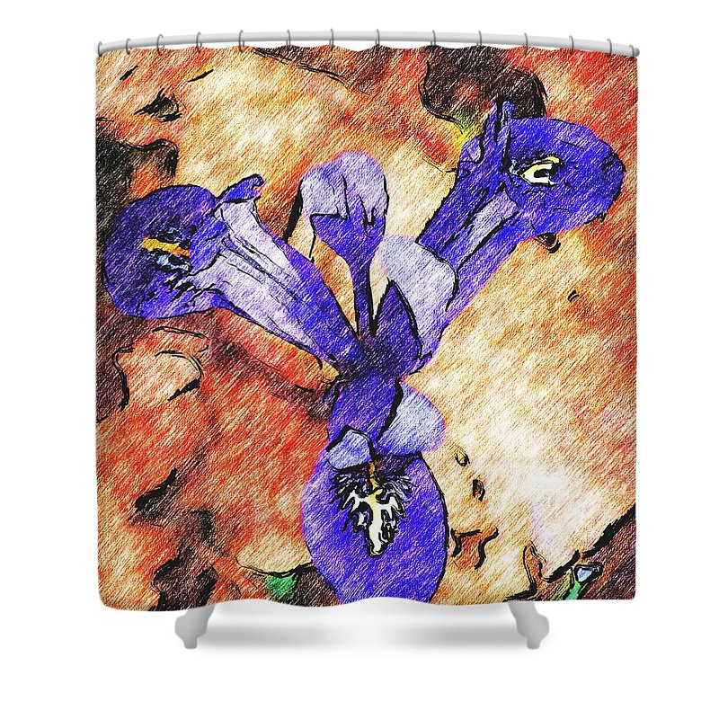 Digital Photography Shower Curtain featuring the photograph Its spring 2010a by David Lane