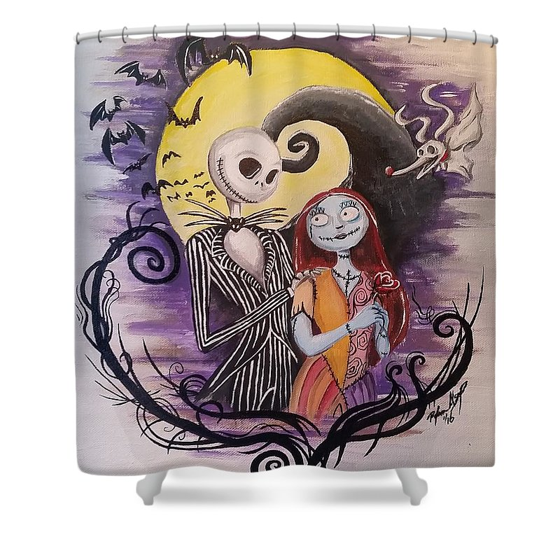 Jack And Sally Shower Curtain For Sale By Ryan Alsup