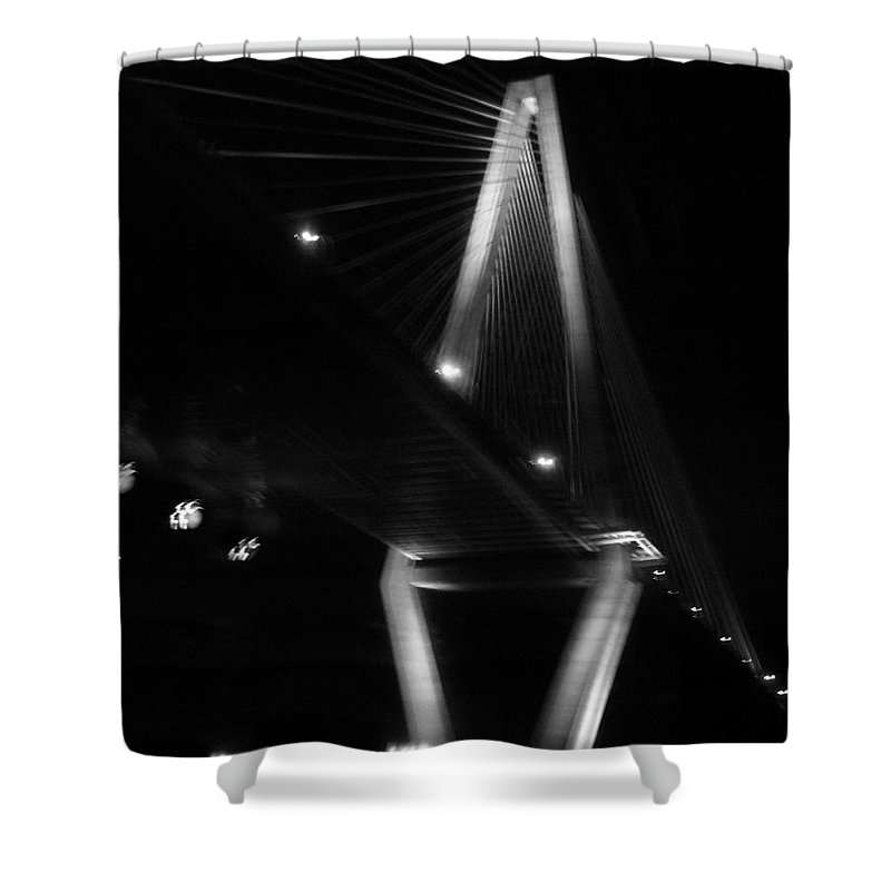 Bridges Shower Curtain featuring the photograph Jammin Life by Amanda Barcon