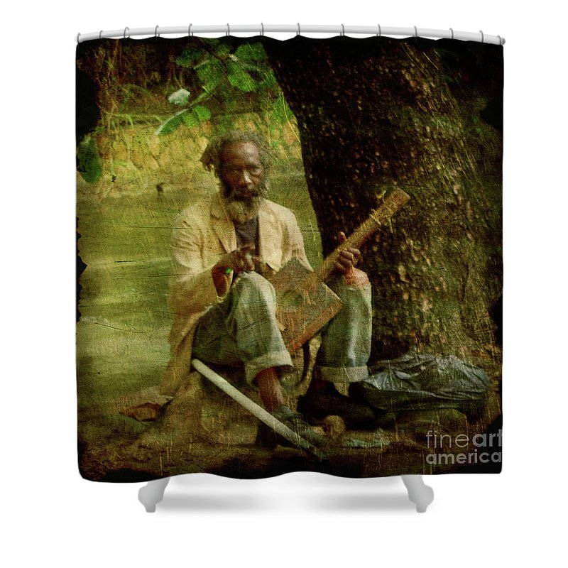 Ocho Rios Shower Curtain featuring the photograph Jamming by Joel Witmeyer