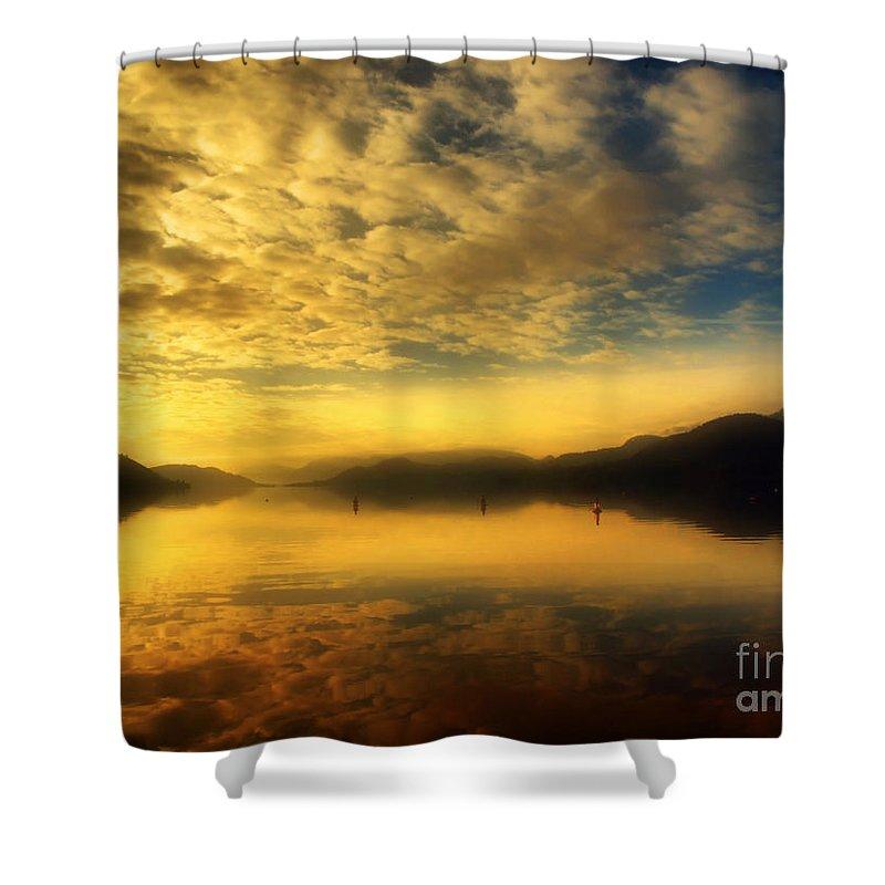 Sunrise Shower Curtain featuring the photograph January 24 2010 by Tara Turner