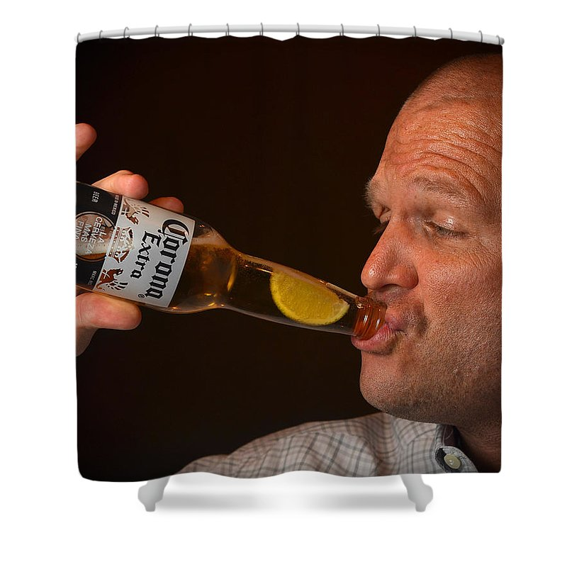 Reunion Shower Curtain featuring the photograph Jazz by Carle Aldrete