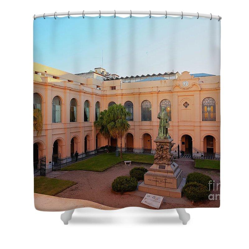 South America Shower Curtain featuring the photograph Jesuit Block, Cordoba, Argentina by Karol Kozlowski