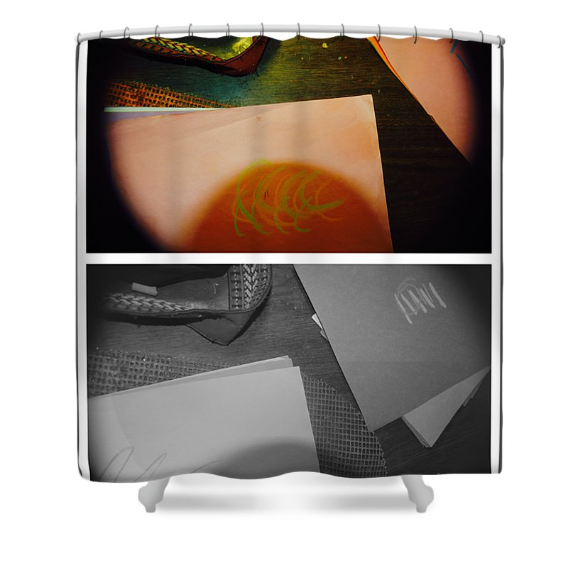 Abstract Shower Curtain featuring the photograph Jesus You Have Been Good To Me by Alwyn Glasgow