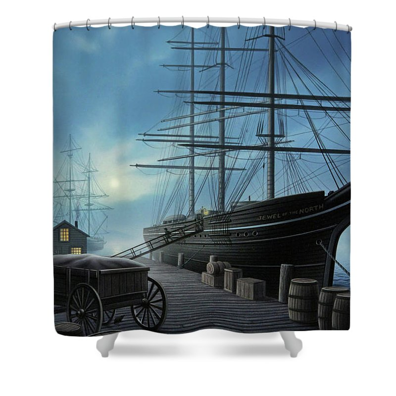 Rigging Shower Curtains